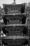 Главная башня на виске Tosho-gu в Nikko, Японии Стоковое Изображение RF