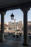 Главная площадь Вальядолида, Испании Столица автономного Comm Стоковое фото RF