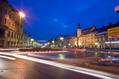 Главная площадь в Мариборе, Словении Стоковая Фотография