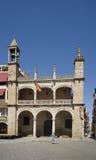 Главная площадь и ратуша Plasencia, Caceres Испания Стоковые Изображения RF