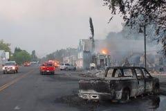 Главная улица Стоковое фото RF