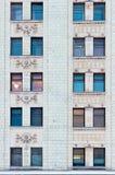 Главное здание государственного университета Lomonosov Москвы MGU Холмы воробья Россия Зима Стоковые Фото