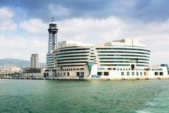 Главное здание порта Vell Барселона Стоковые Изображения