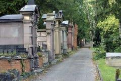 Главное кладбище Майнц Стоковая Фотография