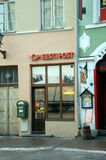 Главное почтовое отделение в Таллине Стоковая Фотография
