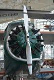 Главный двигатель для города каштанового самолета Стоковые Фотографии RF