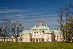 Главный дворец Lomonosov стоковое фото