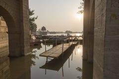 Главный вход озера Gadisar Стоковые Фото