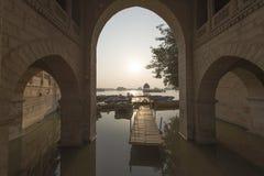 Главный вход озера Gadisar Стоковая Фотография RF