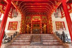 Главный вход Phra Thinang Wehart Chamrun Стоковые Изображения