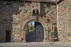 Главный вход ` s замка стоковое изображение rf