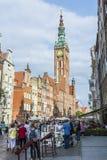 Главный город Hall Гданьска Стоковая Фотография RF