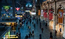 Главный ж-д вокзал Франкфурта Германии Стоковое фото RF