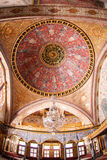 Главный купол имперского Hall гарема в дворце Topkapi Стоковое фото RF