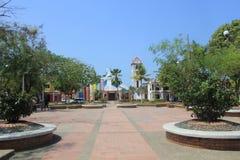 Главный парк, Arboletes, Antioquia, Колумбия Стоковые Изображения RF