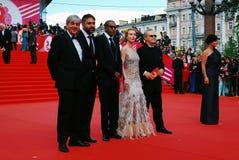 Главный присяжный конкуренции XXXVI международного кинофестиваля Москвы Стоковая Фотография RF