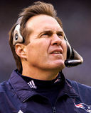 Главный тренер патриотов Bill Belichick New England Стоковое фото RF