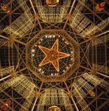 Главный Hall в курорте Texan Gaylord, виноградном вине, Техасе, США 7-ое декабря 2012 Стоковые Изображения