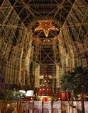 Главный Hall в курорте Texan Gaylord, виноградном вине, Техасе, США 7-ое декабря 2012 Стоковые Фото