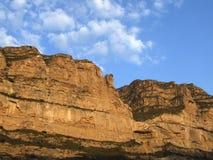 Главным образом географические характеристики плато лёсса в западном Китае стоковая фотография rf