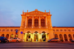 Главным образом железнодорожный вокзал в Загребе стоковое фото rf