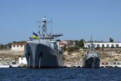 Главным образом основание военно-морских сил Украины Стоковая Фотография RF