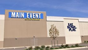 Главным образом развлекательный центр события, Bartlett, TN стоковые изображения