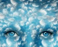 Глаза в небе бесплатная иллюстрация