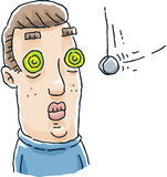 Глаза гипнозом Стоковая Фотография RF