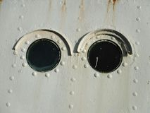 Глаза иллюминатора Стоковые Изображения