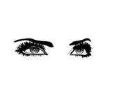 Глаза красоты бесплатная иллюстрация