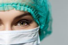 Глаза докторов стоковая фотография rf