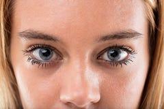 Глаза предназначенного для подростков ager чудесные закрывают вверх Стоковое Изображение
