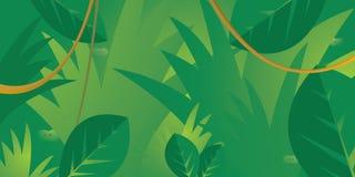 Глаза пряча в джунглях Стоковая Фотография