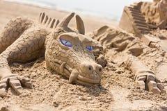 Глаза дракона Стоковые Изображения RF