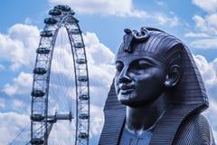 Глаз Англия Великобритания Лондона Стоковые Изображения
