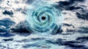 Глаз бога на море Стоковое Изображение RF