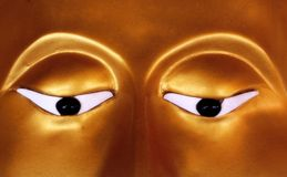 Глаз Будды Стоковая Фотография RF