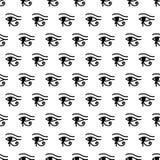 Глаз картины Horus безшовной Стоковые Фото