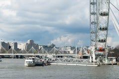 Глаз Лондона и дом Mex раковины Стоковая Фотография RF