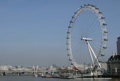 Глаз Лондона, Лондон, АНГЛИЯ Стоковые Фотографии RF