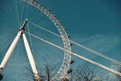 Глаз Лондона налево центра Стоковое Фото