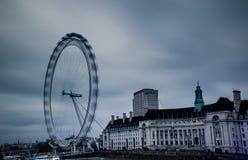 Глаз Лондона долгой выдержки дневного времени Стоковое фото RF