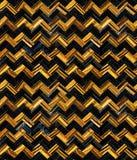Глаз Blue&Gold Heringbone тигра Стоковые Изображения