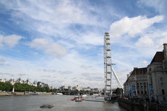 глаз london Англии стоковое фото
