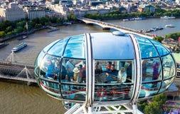 глаз london городского пейзажа Стоковое Изображение RF