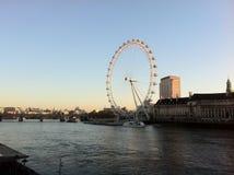 глаз london Стоковая Фотография