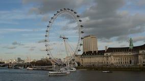 глаз london сток-видео