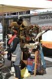 Гданьск, Польша 25-ое августа: Стойка сувениров городская в Гданьске от Польши Стоковые Изображения RF