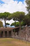 Гладиаторы Palestra в Помпеи стоковое фото